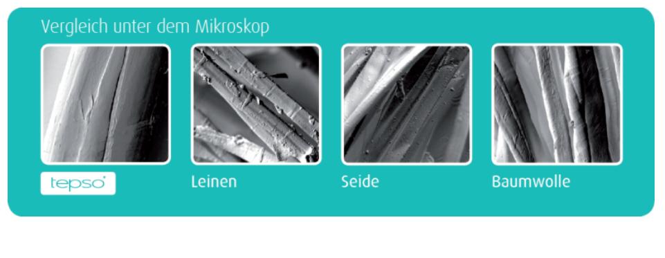 Neurodermitis Kleidung - Oberfläche unter dem Mikroskop